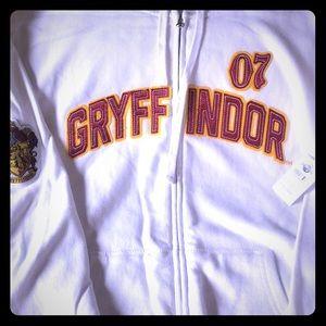 Harry Potter Gryffindor Zip Hoodie Unisex